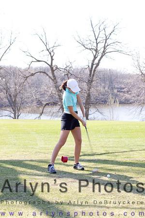 Hutch Girls Golf 5-5-14