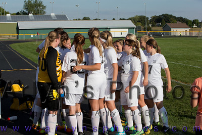 Hutch Girls Soccer vs GSL
