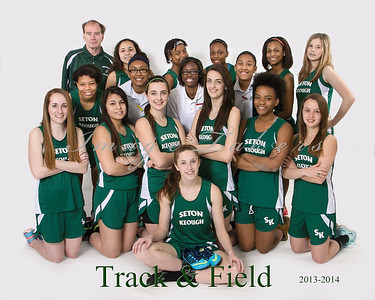 2013-2014 Track & Field Players
