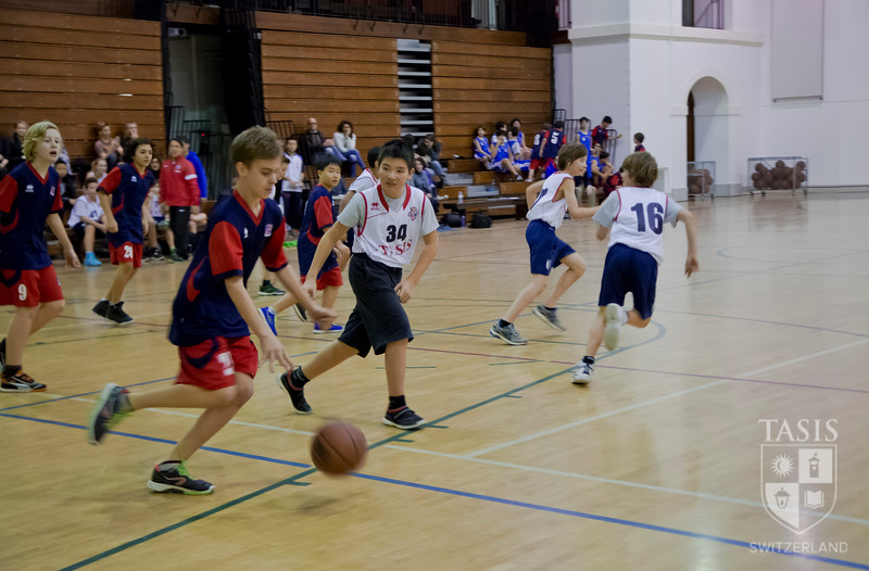 Middle School Basketball - January 24, 2014