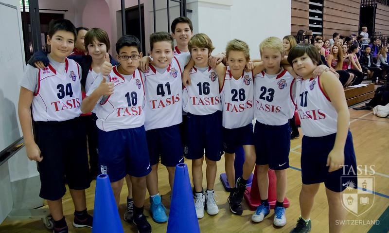 Middle School Basketball - January 24, 2014