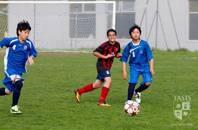 Middle School Boys Spring Soccer