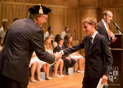 Middle School Moving-Up Ceremony