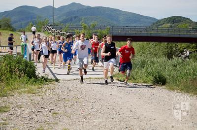 Cross Country meet vs American School of Milan