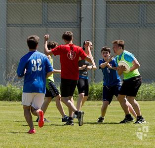Ultimate frisbee game against The American School of Milan
