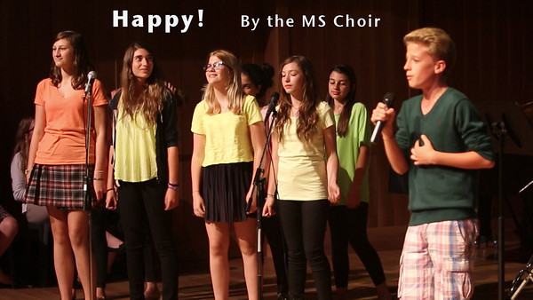 Happy! By the Middle School Choir