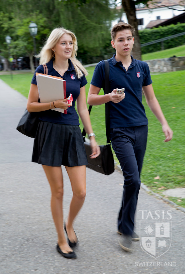 The First Day of the 2013-2014 TASIS Academic Year