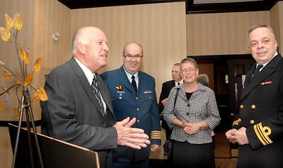W. Foster, Col. Pratt and Mrs (Mme) Pratt