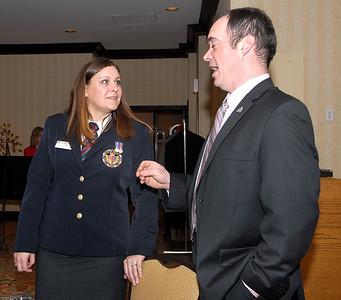 Deanna Firmrite (ANAVets) & Robert Gill