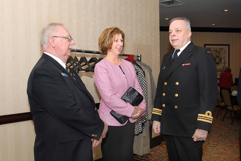 Mr. Moore (RCL/LRC) and guest.  Lcmdr Roland Vaillancourt