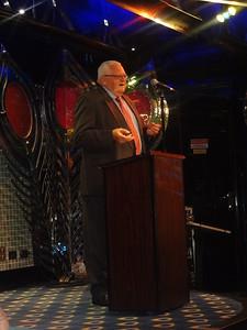 Outgoing President Bob Driegert.