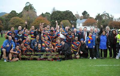 Wellington Club Rugby - HOBM v Tawa, 25 May 2013
