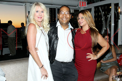 NEW YORK, NY - AUGUST 14:   The Wednesday Celebrity Sunset Happy Hour hosted by Recording artist Kim Cameron at XVI Rooftop Lounge on August 14, 2013 in New York City.