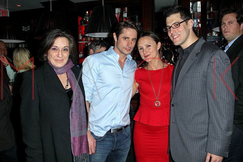 New York, NY - February 06: Dana Frank, Prince Lorenzo Borghese, Georgina Bloomberg and Jeff Krauss at the 1 year anniversary of Animal Aid at RSVP Lounge on Wednesday, February 6, 2013 in New York, NY.  (Photo by Steve Mack/S.D. Mack Pictures)