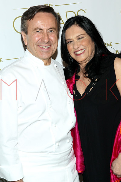NEW YORK, NY - FEBRUARY 24:  Chef David Bouley and Director Barbara Kopple attend the 85th Academy Awards Official New York City Viewing Party on February 24, 2013 in New York City.  (Photo by Steve Mack/S.D. Mack Pictures)