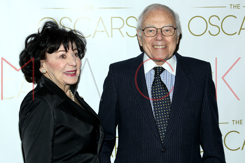 NEW YORK, NY - FEBRUARY 24:  Gloria Ramin and Composer Sid Ramin attend the 85th Academy Awards Official New York City Viewing Party on February 24, 2013 in New York City.  (Photo by Steve Mack/S.D. Mack Pictures)