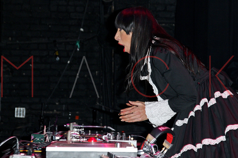 NEW YORK, NY - FEBRUARY 23:  Lady Starlight performs at the Gramercy Theatre on February 23, 2013 in New York City.  (Photo by Steve Mack/S.D. Mack Pictures)