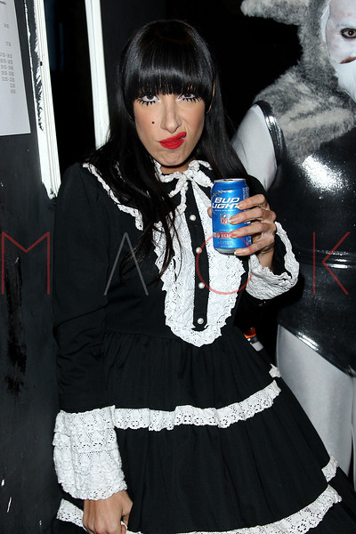 NEW YORK, NY - FEBRUARY 23:  Lady Starlight backstage at the Gramercy Theatre on February 23, 2013 in New York City.  (Photo by Steve Mack/S.D. Mack Pictures)
