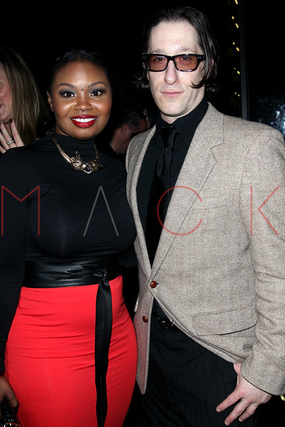 New York, NY - February 15: Lyme Walke and Jae Benjamin at Boss Models and Ferrari of Long Island end of Fashion Week Event hosted by George Wayne of Vanity Fair at The DL Rooftop on Friday, February 15, 2013 in New York, NY.  (Photo by Steve Mack/S.D. Mack Pictures)