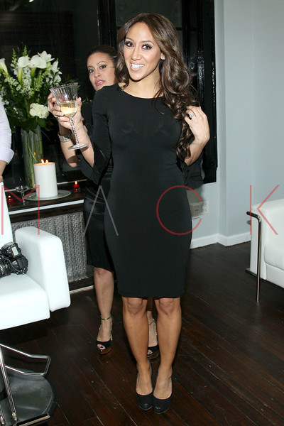 New York, NY - February 07: Melissa Gorga at the Grand Opening of Lasio Salon hosted by Melissa Gorga at Lasio Salon on Thursday, February 7, 2013 in New York, NY.  (Photo by Steve Mack/S.D. Mack Pictures)