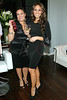New York, NY - February 07: Nadine Ramos and Melissa Gorga at the Grand Opening of Lasio Salon hosted by Melissa Gorga at Lasio Salon on Thursday, February 7, 2013 in New York, NY.  (Photo by Steve Mack/S.D. Mack Pictures)