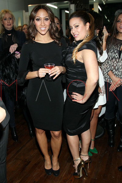 New York, NY - February 07: Melissa Gorga and Nadine Ramos at the Grand Opening of Lasio Salon hosted by Melissa Gorga at Lasio Salon on Thursday, February 7, 2013 in New York, NY.  (Photo by Steve Mack/S.D. Mack Pictures)