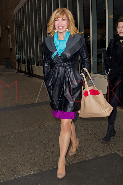 New York, NY - February 05: Leeza Gibbons at Live with Kelly and Michael at Live with Kelly and Michael on Tuesday, February 5, 2013 in New York, NY.  (Photo by Steve Mack/S.D. Mack Pictures)