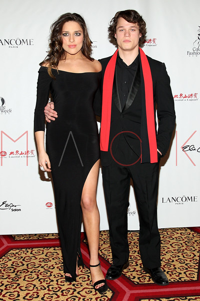"NEW YORK, NY - FEBRUARY 16:  Rachel Filsoof and Connor Antico attends NY Couture Fashion Week Debuts ""Broadway Night""at New Yorker Hotel on February 16, 2013 in New York City.  (Photo by Steve Mack/S.D. Mack Pictures)"