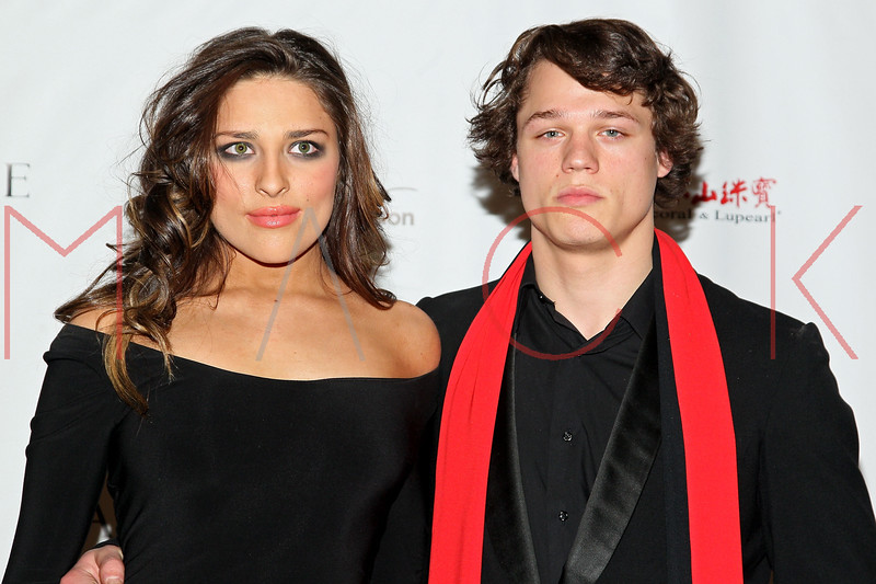 """NEW YORK, NY - FEBRUARY 16:  Rachel Filsoof and Connor Antico attends NY Couture Fashion Week Debuts """"Broadway Night""""at New Yorker Hotel on February 16, 2013 in New York City.  (Photo by Steve Mack/Getty Images)"""