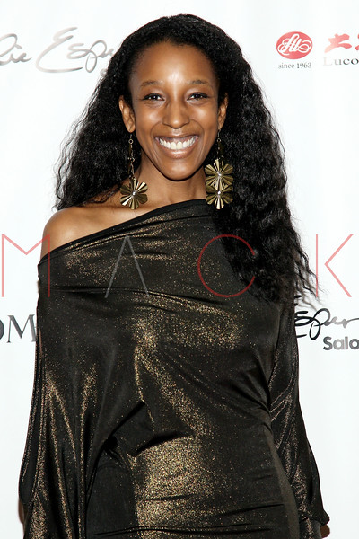 "NEW YORK, NY - FEBRUARY 16:  Noreen Crayton attends NY Couture Fashion Week Debuts ""Broadway Night""at New Yorker Hotel on February 16, 2013 in New York City.  (Photo by Steve Mack/Getty Images)"