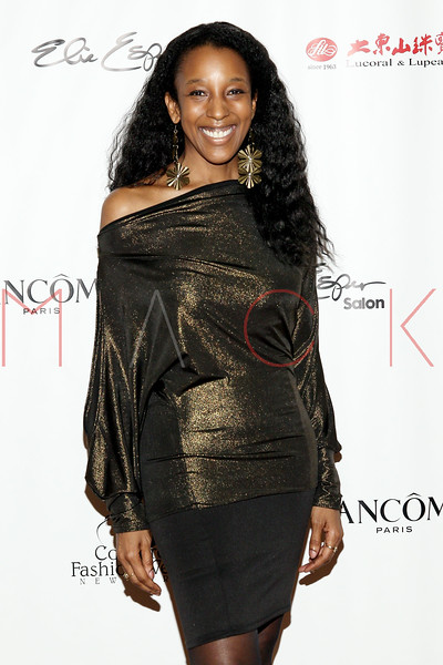 "NEW YORK, NY - FEBRUARY 16:  Noreen Crayton attends NY Couture Fashion Week Debuts ""Broadway Night""at New Yorker Hotel on February 16, 2013 in New York City.  (Photo by Steve Mack/S.D. Mack Pictures)"