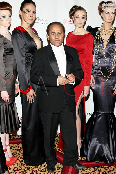 """NEW YORK, NY - FEBRUARY 16:  Andres Aquino attends NY Couture Fashion Week Debuts """"Broadway Night""""at New Yorker Hotel on February 16, 2013 in New York City.  (Photo by Steve Mack/S.D. Mack Pictures)"""