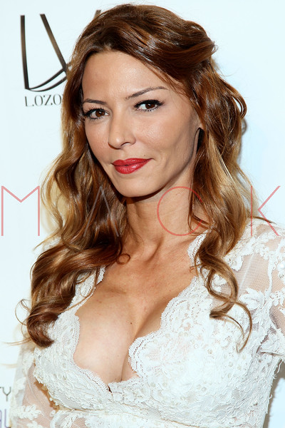 "NEW YORK, NY - FEBRUARY 09:  Drita D'Avanzo attends the ""The Reality Of Fashion, The Reality Of AIDS"" Benefit - 2013 Mercedes-Benz Fashion Show at Altman Building on February 9, 2013 in New York City.  (Photo by Steve Mack/S.D. Mack Pictures)"