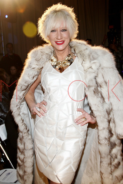 "NEW YORK, NY - FEBRUARY 09:  Marsha Doll attends the ""The Reality Of Fashion, The Reality Of AIDS"" Benefit - 2013 Mercedes-Benz Fashion Show at Altman Building on February 9, 2013 in New York City.  (Photo by Steve Mack/S.D. Mack Pictures)"