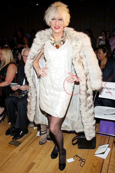 """NEW YORK, NY - FEBRUARY 09:  Marsha Doll attends the """"The Reality Of Fashion, The Reality Of AIDS"""" Benefit - 2013 Mercedes-Benz Fashion Show at Altman Building on February 9, 2013 in New York City.  (Photo by Steve Mack/S.D. Mack Pictures)"""