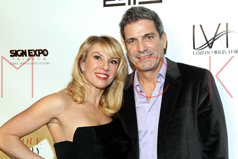 """NEW YORK, NY - FEBRUARY 09:  Ramona and Mario Singer attend the """"The Reality Of Fashion, The Reality Of AIDS"""" Benefit - 2013 Mercedes-Benz Fashion Show at Altman Building on February 9, 2013 in New York City.  (Photo by Steve Mack/S.D. Mack Pictures)"""
