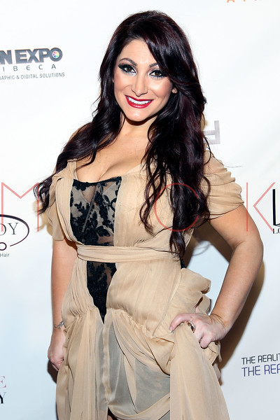 "NEW YORK, NY - FEBRUARY 09:  Deena Cortese attends the ""The Reality Of Fashion, The Reality Of AIDS"" Benefit - 2013 Mercedes-Benz Fashion Show at Altman Building on February 9, 2013 in New York City.  (Photo by Steve Mack/S.D. Mack Pictures)"