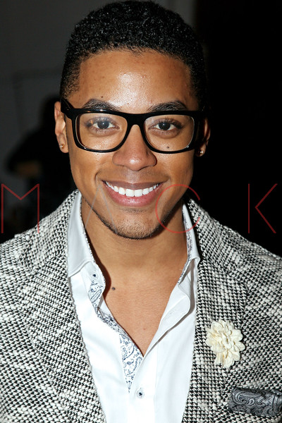 "NEW YORK, NY - FEBRUARY 09:  Justin Davis attends the ""The Reality Of Fashion, The Reality Of AIDS"" Benefit - 2013 Mercedes-Benz Fashion Show at Altman Building on February 9, 2013 in New York City.  (Photo by Steve Mack/S.D. Mack Pictures)"