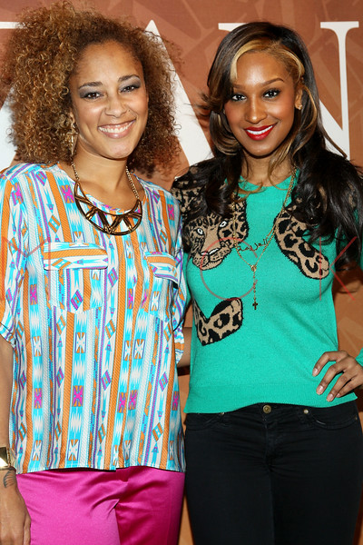 """NEW YORK, NY - FEBRUARY 26:  Amanda Seales and Olivia attend """"The Spoken Word"""" Hosted By Kim Coles at L'Oreal Soho Academy on February 26, 2013 in New York City.  (Photo by Steve Mack/S.D. Mack Pictures)"""