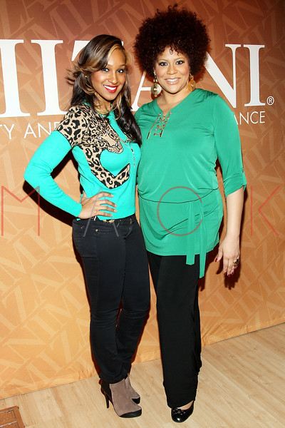 "NEW YORK, NY - FEBRUARY 26:  Olivia and Kim Coles attend ""The Spoken Word"" Hosted By Kim Coles at L'Oreal Soho Academy on February 26, 2013 in New York City.  (Photo by Steve Mack/S.D. Mack Pictures)"