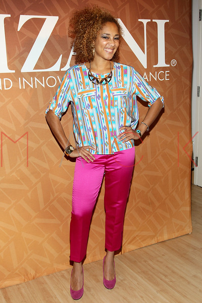 """NEW YORK, NY - FEBRUARY 26:  Amanda Seales attends """"The Spoken Word"""" Hosted By Kim Coles at L'Oreal Soho Academy on February 26, 2013 in New York City.  (Photo by Steve Mack/S.D. Mack Pictures)"""