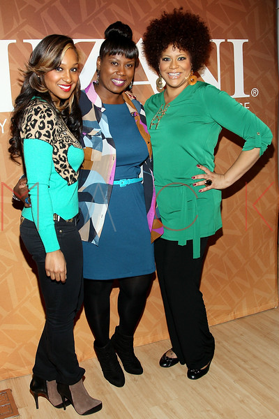 "NEW YORK, NY - FEBRUARY 26:  Olivia, Melka Davis and Kim Coles attend ""The Spoken Word"" Hosted By Kim Coles at L'Oreal Soho Academy on February 26, 2013 in New York City.  (Photo by Steve Mack/S.D. Mack Pictures)"