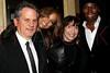 "NEW YORK, NY - JANUARY 28:  Larry Sanitsky, Tyra Banks, Nancy Sanitsky and Jade attend the ""Betty & Coretta"" premiere at Tribeca Cinemas on January 28, 2013 in New York City.  (Photo by Steve Mack/S.D. Mack Pictures)"