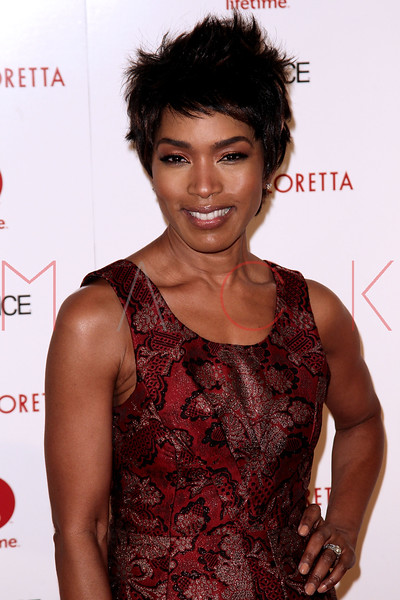 "NEW YORK, NY - JANUARY 28:  Angela Bassett attends the ""Betty & Coretta"" premiere at Tribeca Cinemas on January 28, 2013 in New York City.  (Photo by Steve Mack/S.D. Mack Pictures)"
