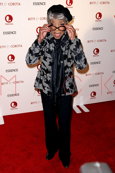 "NEW YORK, NY - JANUARY 28:  Ruby Dee attends the ""Betty & Coretta"" premiere at Tribeca Cinemas on January 28, 2013 in New York City.  (Photo by Steve Mack/S.D. Mack Pictures)"