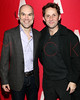 "NEW YORK, NY - JANUARY 22:  Greg Stuhr and Todd Weeks attend the ""The Jammer"" Opening Night after party at Jake's Saloon on January 22, 2013 in New York City.  (Photo by Steve Mack/S.D. Mack Pictures)"