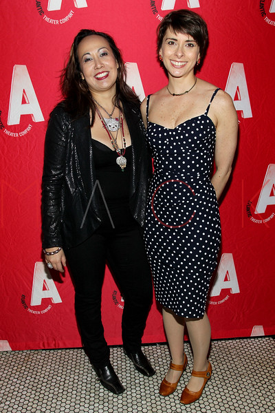 "NEW YORK, NY - JANUARY 22:  Kate Rigg and Jeanine Serralles attend the ""The Jammer"" Opening Night after party at Jake's Saloon on January 22, 2013 in New York City.  (Photo by Steve Mack/S.D. Mack Pictures)"