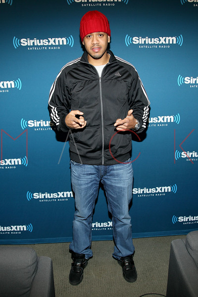 """NEW YORK, NY - JANUARY 24:  DJ Steel visits Kendrick Lamar Live On Hip-Hop Nation's """"Thursday Night Live With DJ Envy And DJ Steel"""" at SiriusXM Studios on January 24, 2013 in New York City.  (Photo by Steve Mack/S.D. Mack Pictures)"""