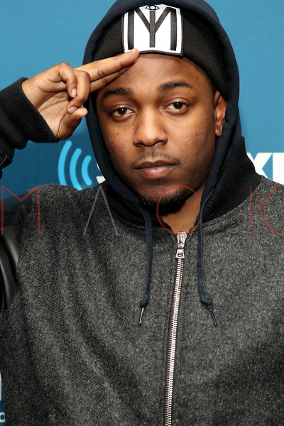 "NEW YORK, NY - JANUARY 24:  Kendrick Lamar visits Kendrick Lamar Live On Hip-Hop Nation's ""Thursday Night Live With DJ Envy And DJ Steel"" at SiriusXM Studios on January 24, 2013 in New York City.  (Photo by Steve Mack/S.D. Mack Pictures)"
