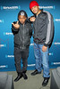 "NEW YORK, NY - JANUARY 24:  Kendrick Lamar and DJ Steel visit Kendrick Lamar Live On Hip-Hop Nation's ""Thursday Night Live With DJ Envy And DJ Steel"" at SiriusXM Studios on January 24, 2013 in New York City.  (Photo by Steve Mack/S.D. Mack Pictures)"